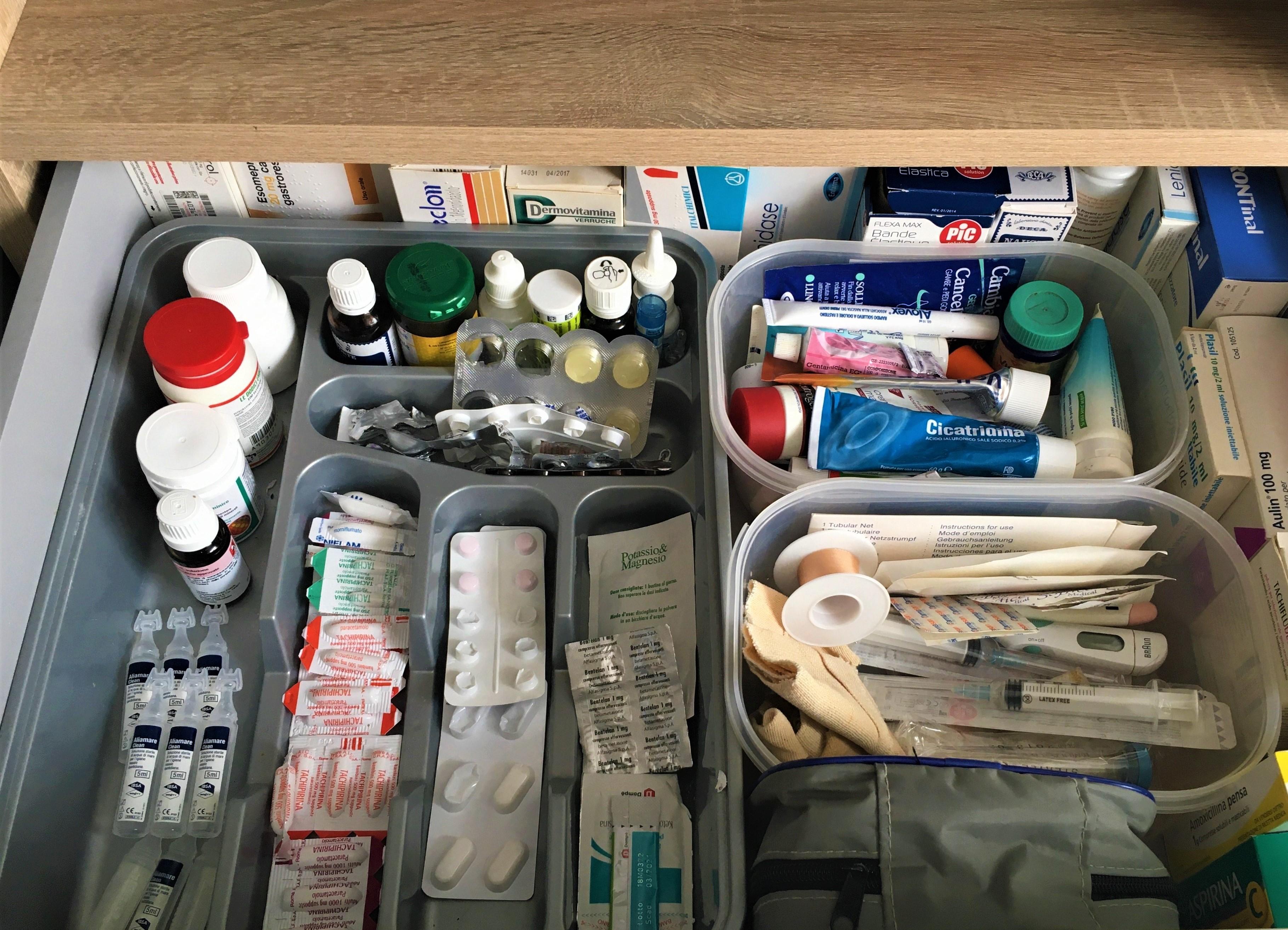 Ecco come tenere in ordine le medicine