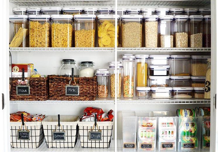 Sistemare cucina e credenza: ecco il segreto